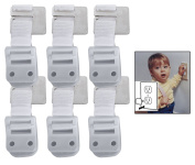 Safety 1st Furniture Wall Straps, 6 Pack with BONUS 10 Pack Outlet Plug Covers