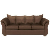 Signature Design by Ashley Darcy Sofa-Option:Cafe Fabric