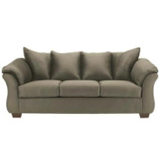 Signature Design by Ashley Darcy Sofa-Option:Sage Fabric