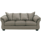 Signature Design by Ashley Darcy Sofa-Option:Cobblestone Fabric