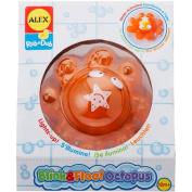 ALEX Toys Rub a Dub Blink & Float Octopus