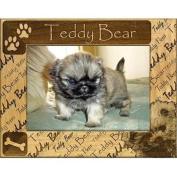 Giftworks Plus DBA0165 Teddy Bear Alder Wood Frame 10cm x 15cm