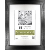 Timeless Frames 73224 Regal Portrait Black Wall Frame 20cm x 25cm .
