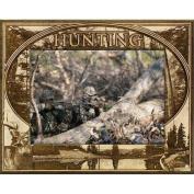 Giftworks Plus SPR2006 Hunting, Alder Wood Frame, 13cm x 18cm