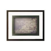 Burns Grp. Nature Quotes Motivational Prints Frame
