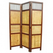 D-Art Collection 180cm x 130cm Bahama 3 Panel Room Divider