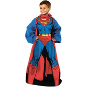 Northwest NOR-1SUP023000001RET Superman Being Superman Youth Comfy Throw Blanket with Sleeves