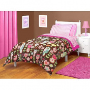American Kids Owl Twin/Full Microfiber Bedding Comforter