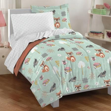 Dream Factory Woodland Friends Bed-In-A-Bag