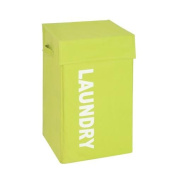 Honey-Can-Do HMP-04060 laundry hamper Square Hamper with lid, green