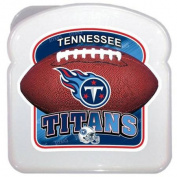 Matrix Retail 41431 3D Nfl Logo Sandwich Container - Tennessee Titans