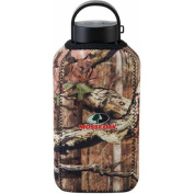Mossy Oak 1 L Aluminium Canteen with Neoprene Sleeve, Breakup Infinity Pattern