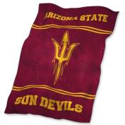 Logo Chair LCC-107-27 Arizona State Sun Devils NCAA UltraSoft Fleece Throw Blanket - 210cm x 140cm