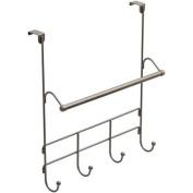 Mainstays Over the Door Towel Rack with Hooks