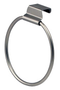 SPECTRUM DIVERSIFIED DESIGNS Over The Cabinet/Drawer Towel Ring - Brushed Nickel