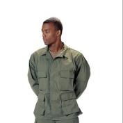 Olive Drab BDU shirts, military uniform shirts, Large