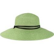 Sloggers Women's Tea Green Wide Brim Braided Woven UPF SPF 50+ Sun Gardening Hat