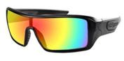 Bobster Eyewear EPAR001 Paragon Sunglass Matte Blk Smoked Mirror Lens