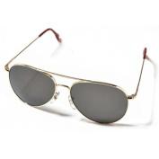 "58mm Original Pilot Polarised Sunglasses by American Optics, Gold ""CE"""