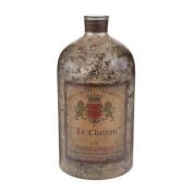 Sterling Industries 169-002 Accents Home Decor Decorative Bottles ;Aged Mercury