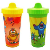 USA Kids Party Monsters Insulated Sippy Cups, BPA-Free, 2-Pack