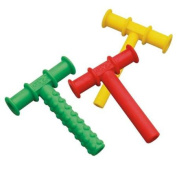 Chewy Tubes Teether, 3 Pack - Green/Red/Yellow