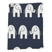 Brownie Gifts Navy Elephant Wet Bag