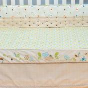 Nurture Imagination Nest Decorator Crib Sheet