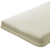 Bargoose Home Textiles Natural Cotton Zippered Crib Mattress Cover
