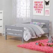 Baby Relax Cruz Toddler Bed, Grey