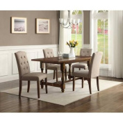 Better Homes and Gardens Providence 5-Piece Dining Set, Brown