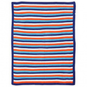 Bananafish Studio Anchors Away Stripe Knit Blanket