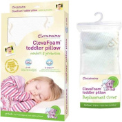 Quest Products CLM00923 Clevamama Foam Toddler Pillow & Replacement Pillow Cover