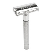 Misaki Double Edge Safety Facial Hair Shaving Vintage Old Fashioned Razor, Stainless Steel