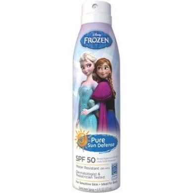 Pure Sun Defence Disney Frozen Sunscreen Spray, SPF 50, 180ml