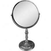 Elegant Home Fashions SM-C72 Freestanding Bath Magnifying Makeup Mirror
