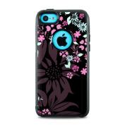 DecalGirl OC5C-DKFLOWERS OtterBox Commuter iPhone 5c Skin - Dark Flowers