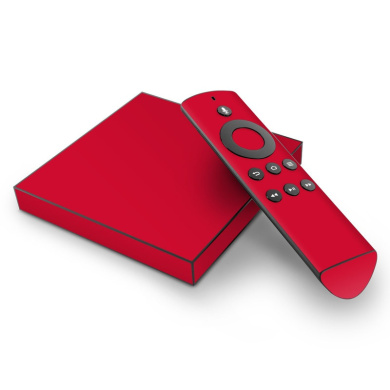DecalGirl AFTV-SS-RED Amazon TV Skin - Solid State Red
