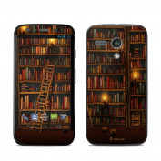 DecalGirl MOMG-LIBRARY Motorola Moto G Skin - Library