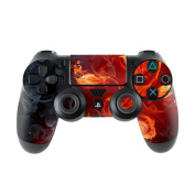 DecalGirl PS4C-FLWRFIRE Sony PS4 Controller Skin - Flower Of Fire