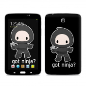 DecalGirl ST37-GOTNINJA for for for for for for for for for for Samsung Galaxy Tab 3 18cm Skin - Got Ninja