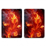 DecalGirl IPDA-FLWRFIRE Apple iPad Air Skin - Flower Of Fire