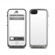 DecalGirl LCN5-SS-WHT Lifeproof iPhone 5 Nuud Skin - Solid State White