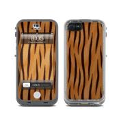 DecalGirl LCN5-TIGER Lifeproof iPhone 5 Nuud Skin - Tiger Stripes