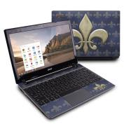 DecalGirl ACC7-FDLIS Acer Chromebook C7 Skin - Fleur De Lis