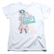 Archie Comics-Glam Rockers - Short Sleeve Womens Tee Tee White - Small