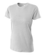 A4 NW3249 Womens Combed Ring-spun Short-Sleeve Tee - Silver Extra Large