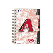 National Design Deluxe Hardcover 10cm x 15cm . Notebook & Pen Set - Grip - Arizona Diamondbacks