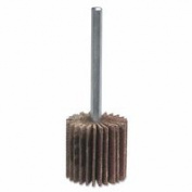 Merit Abrasives 481-08834149806 Metal Mini Flap Wheel With Mounted Steel Shank 1 x 1 x 0.25 120 Grit