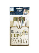 Bulk Buys CG592 10 Things I Love About My Family Journaling Pocket